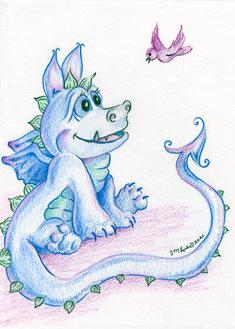 Dragon Befriends Bird.jpg