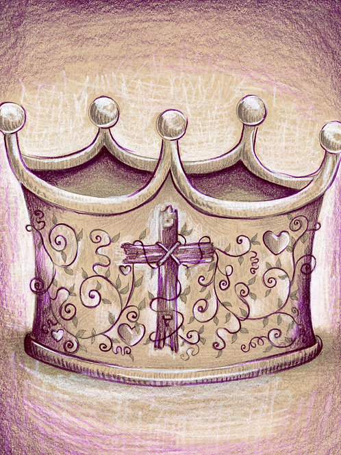 The Crown of Love (Original or Fine Art Print)