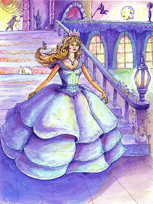 Cinderella Leaving the Ball
