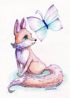 Fox and the Butterfly.jpg