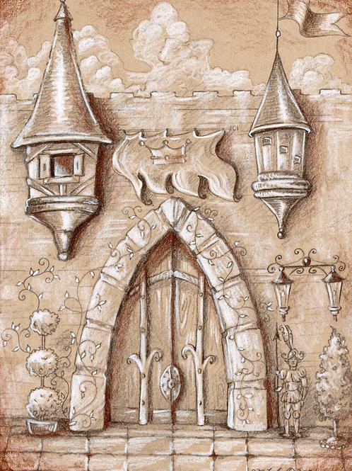 Great Castle (Original or Fine Art Print)
