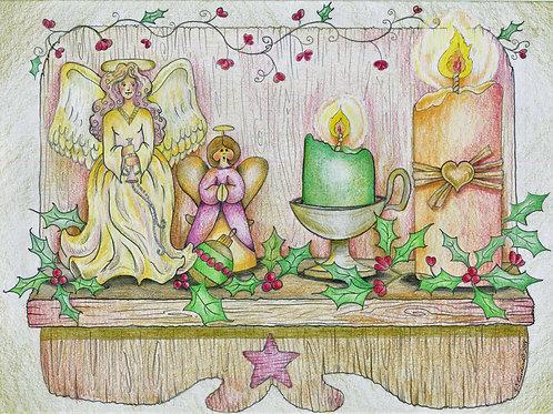 Grandma's Angels (Fine Art Print)