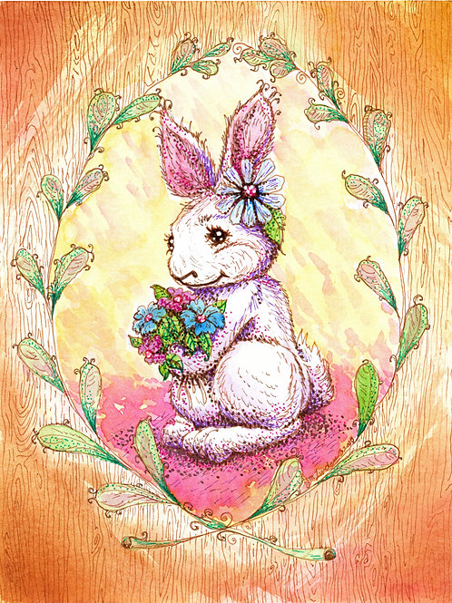 Small Country Animal Series: Bunny