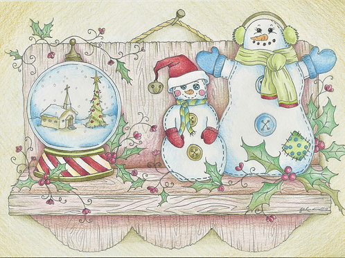 Snowmen and Snowglobe