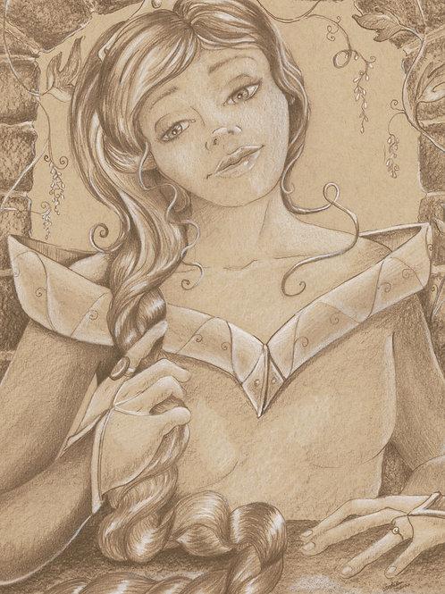 Chosen Daughters (Original or Fine Art Print)