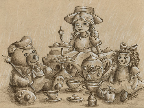 Countryside Series: Tea Party