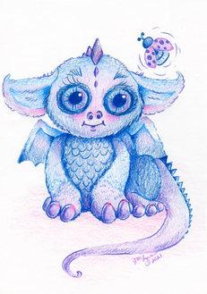 Baby Dragon with Ladybug.jpg