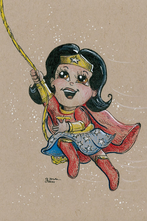 Wonder Baby being Awesome!