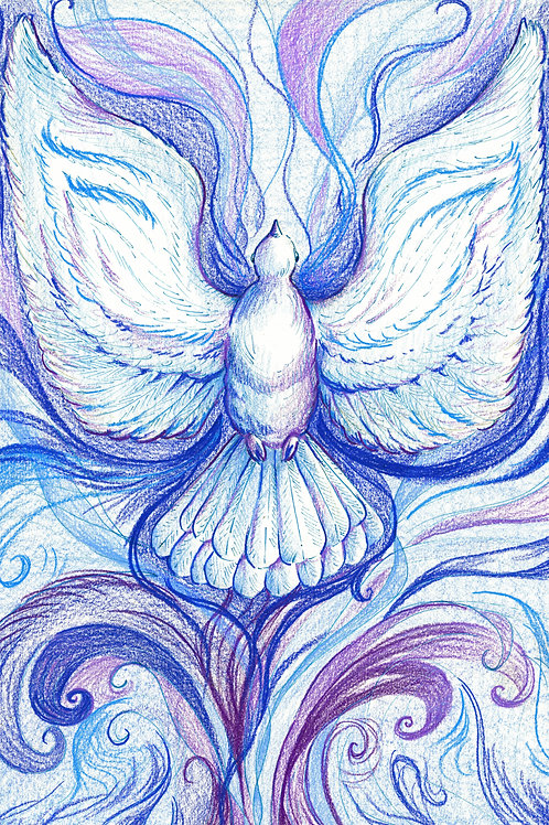 Holy Spirit (Original or Fine Art Print)