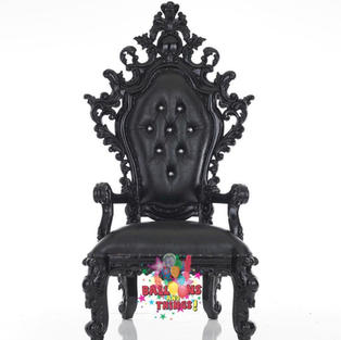 BLACKOUT THRONE CHAIR
