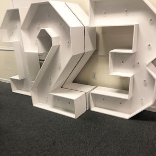 5ft. LED Marquee Numbers