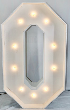 LED Marquee Number 0