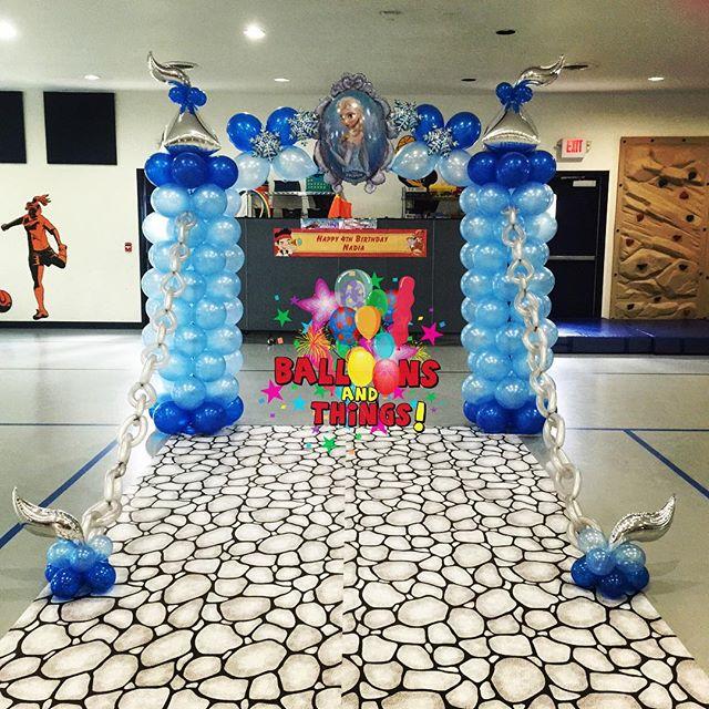 Frozen Castle Entrance