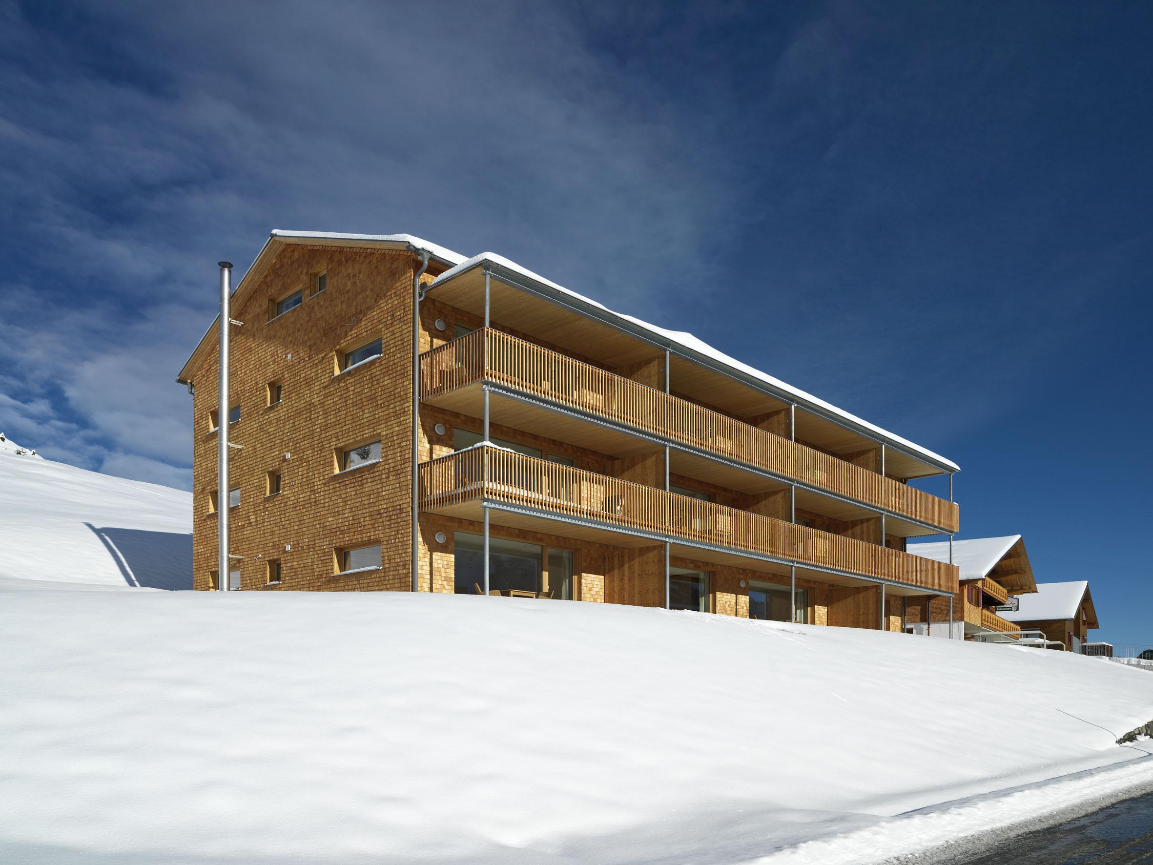 Appartementhaus Schesaplana