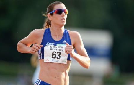 Triathlon training for the marathon: Nicola Spirig
