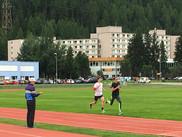 St.Moritz track workout
