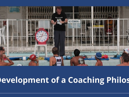 The development of a coaching philosophy