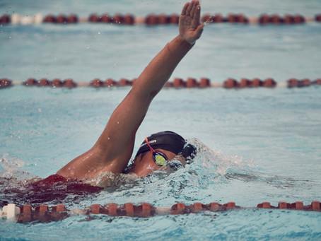 Medley swimming for triathlon
