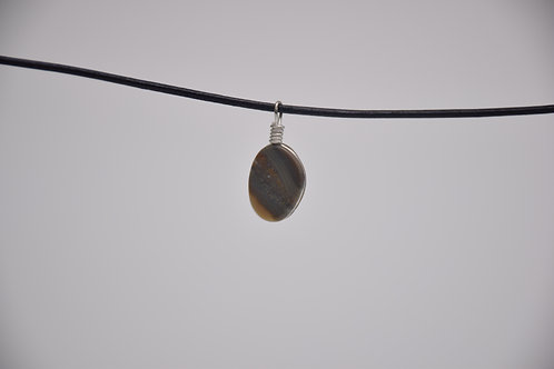Fish River Banded Chalcedony