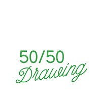 50/50 Drawing (1 yard of tickets)