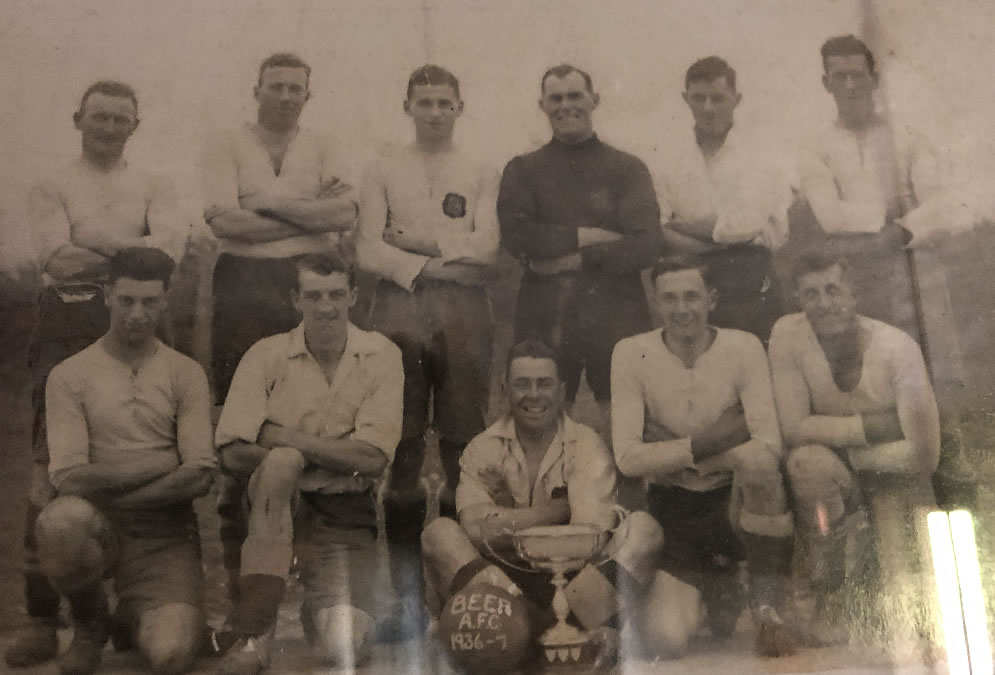 Axminster Cup Winners 1936