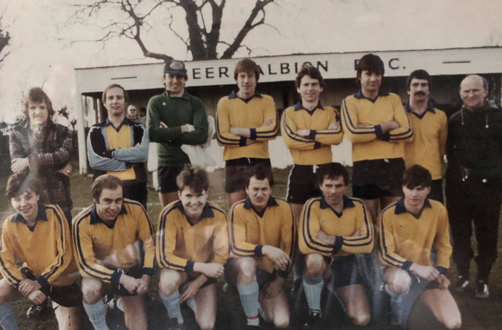 Beer Albion Reserves 1983-1984