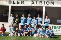 Beer Albion U14's 1998-1999