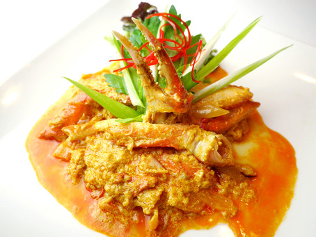 タイ料理パンガン タイ国政府認定日本人シェフがつくる絶品のプーパッポンカリー!
