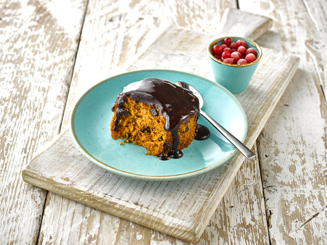 CHOCOLATE & ORANGE SPONGE Pudding