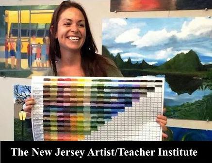 The New Jersey Artist Teacher Institute.