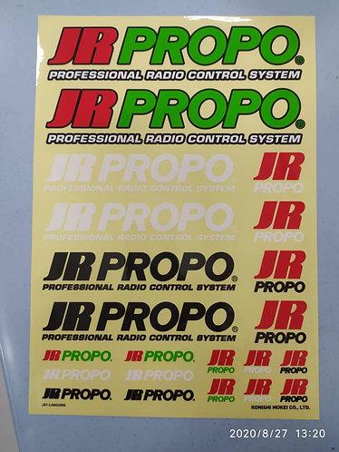 JR PROPO A4 Sticker