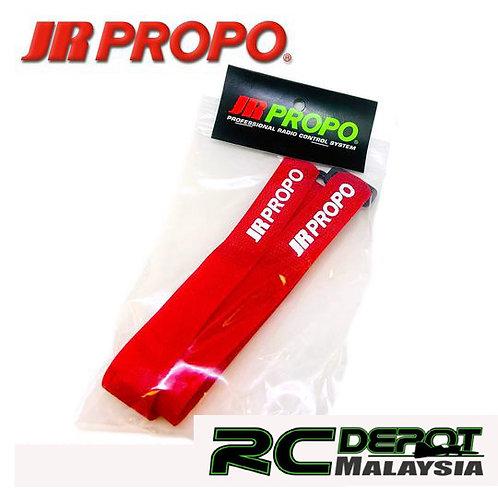 JR Propo Battery Strap Red 2pcs (Large)