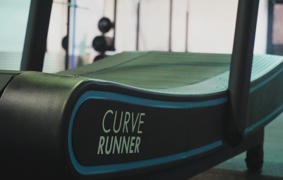 Try our curved runner treadmill