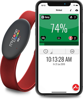 MyZone MZ-3 Heart Rate Tracking Belt