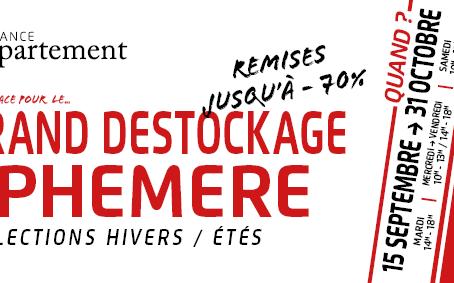DESTOCKAGE GARANCE L'APPARTEMENT