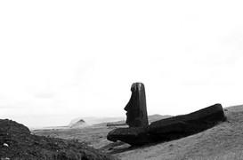 Staring Moai