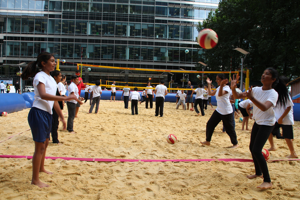 Beach volleyball taster sessions.JPG