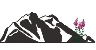 Custom Alakan Mountain Graphic