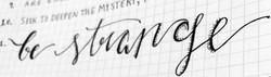 custom hand-lettered inspiration