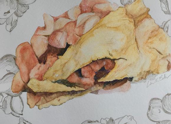 Apple Pear Pie, Original Art