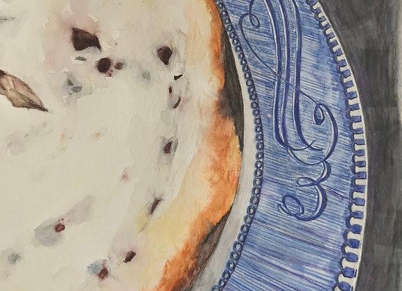 Chocolate Chip Cheesecake, Original Art