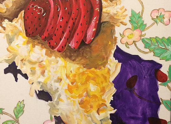 Coconut Custard Pie, Original Art