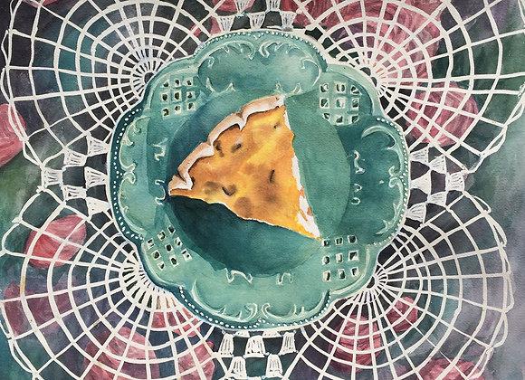 Quiche Lorraine, Original Art