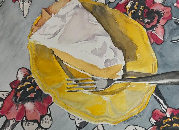 Banana Cream Pie, Original Art
