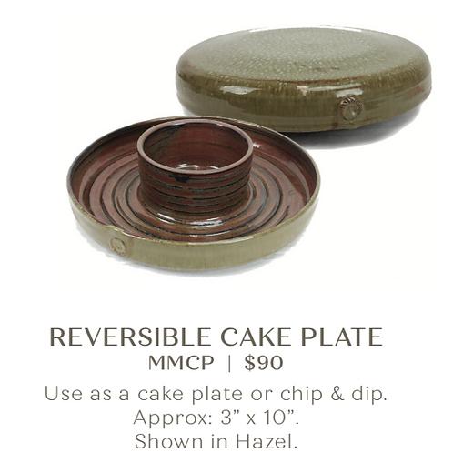 Reversible Cake Plate