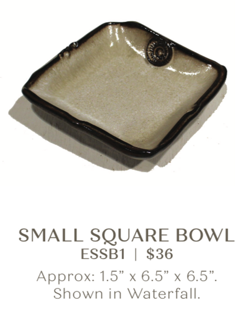Small Square Bowl