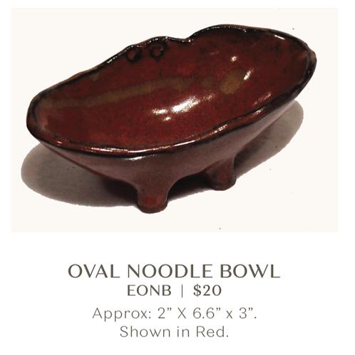 Oval Noodle Bowl
