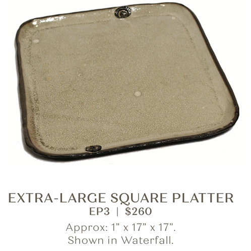 Extra Large Square Platter