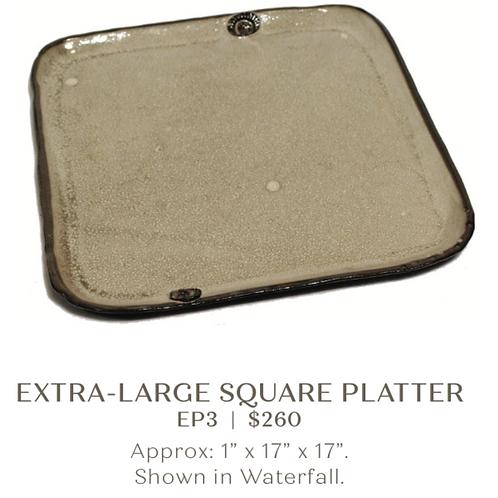 Extra Large Square Platter