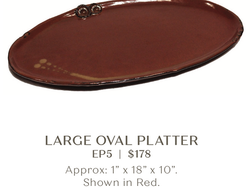 Extra Large Oval Platter